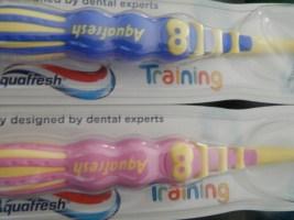 Training brushes handles