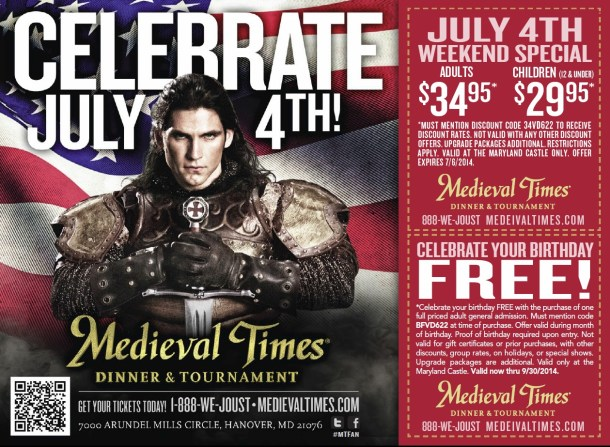 July 4th week specials