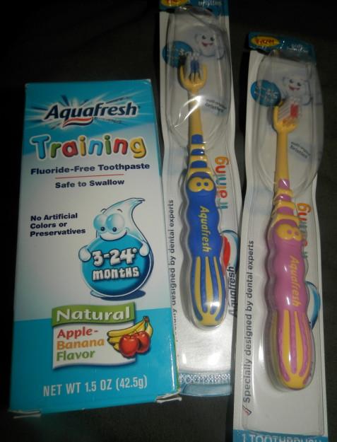 Aquafresh training products