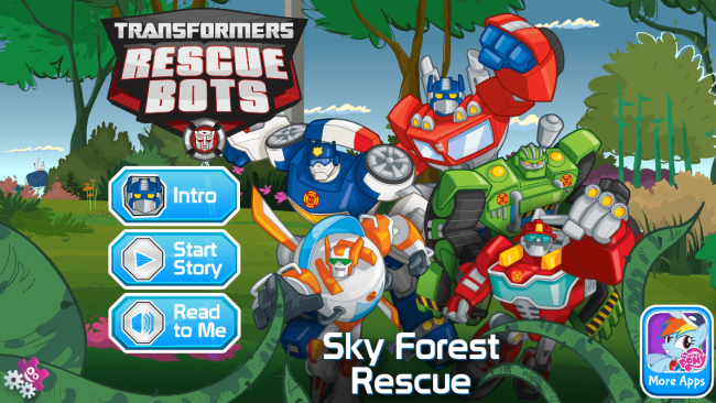 Transformers Rescue Bots App Great For Beginner Readers