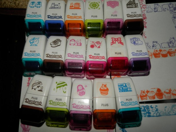 Our Rolli Stamps collection