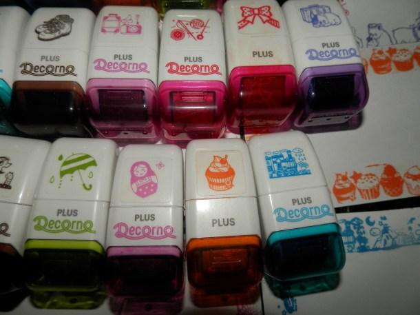 Collection of Rolli Stamps