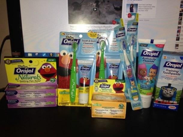 Orajel Oral Care Line for Children