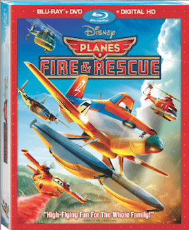Disney's Planes Fire & Rescue DVD Review