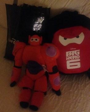 Baymax Pillow, Big Hero 6 Bagpack