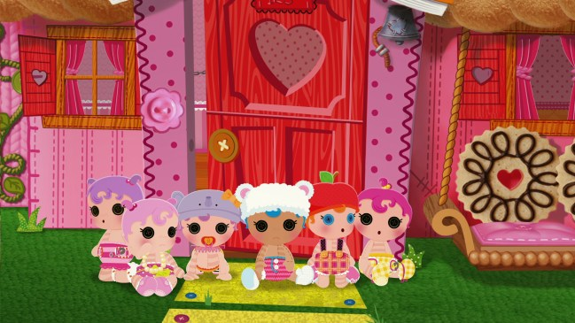 Lalaloopsy Babies DVD Review