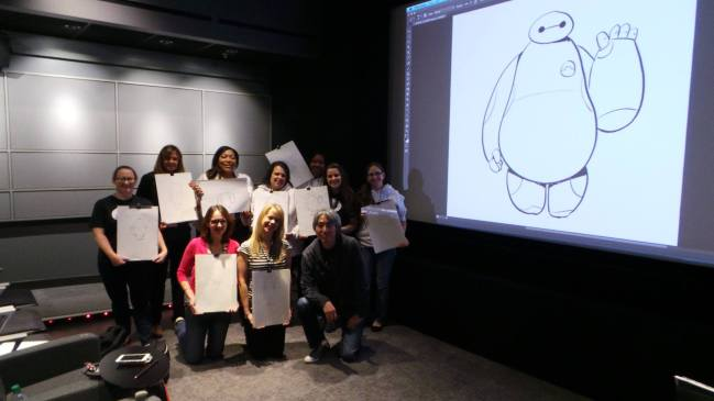 My How To Draw Baymax Drawing Demo Experience