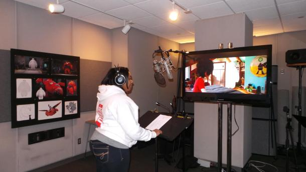 I'm Back In The Recording Booth… #MeetBaymax #BigHero6Event
