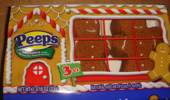 PEEPS Gingerbread Flavored Marshmallow Gingerbread Men