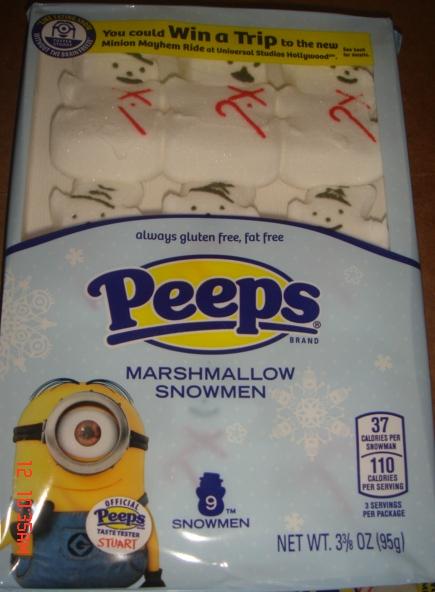 PEEPS Marshmallow Snowmen