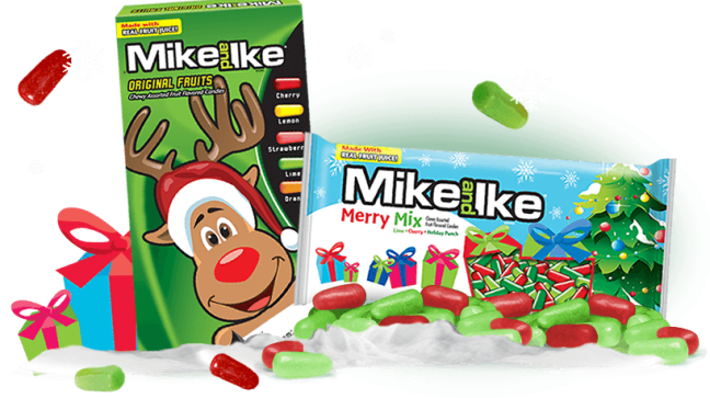 Last Minute Stocking Stuffers featuring MIKE AND IKE