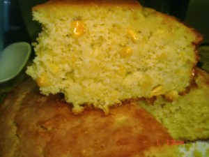 Sweet Corn Bread Recipe with Corn