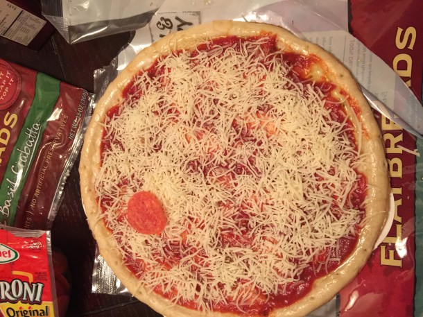 Building pizza