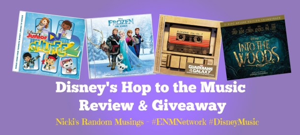 Disney's Hop to the Music Review #DisneyMusic #ENMNetwork