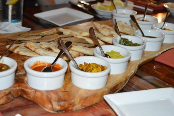 Bread service at Sanaa - Sanaa Dining Experience
