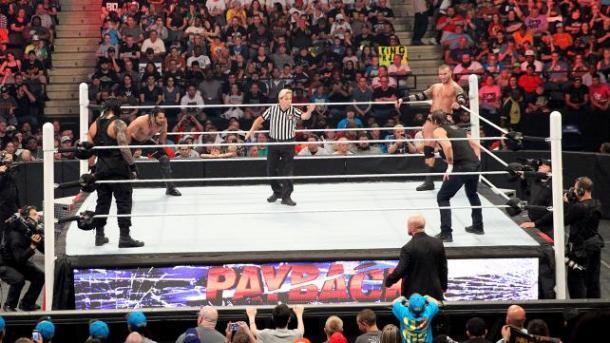 WWE All four ready