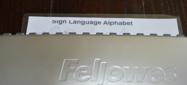 Fellowes Laminator (10)