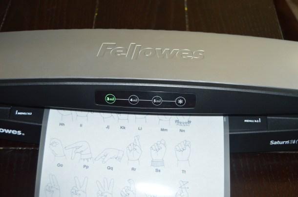 Fellowes Laminator (8)