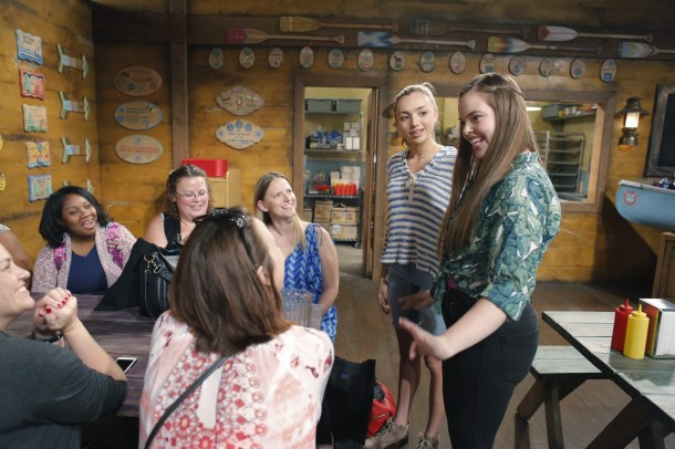 BUNK'D - Mommy Blogger event. - (Disney Channel/Tony Rivetti) PEYTON LIST, MIRANDA MAY