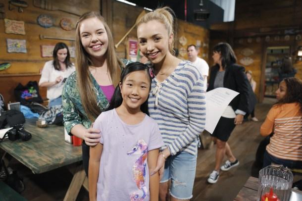 BUNK'D - Mommy Blogger event. - (Disney Channel/Tony Rivetti) MIRANDA MAY, NINA LU, PEYTON LIST