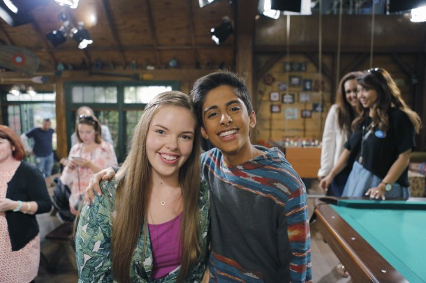BUNK'D - Mommy Blogger event. - (Disney Channel/Tony Rivetti) MIRANDA MAY, KARAN BRAR