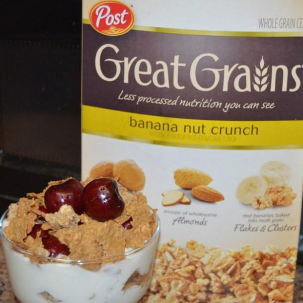 Great Grains Cherry Crunch Parfait