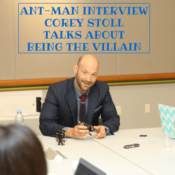 corey stoll on being the villain