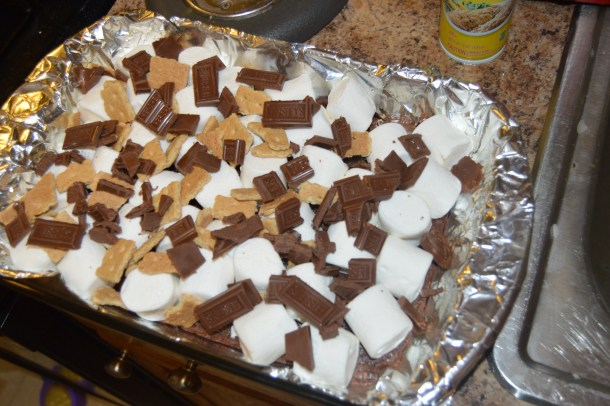 n asking about making S'mores. It's summer so who doesn't want a nice warm S'more for an after-dinner treat or a mid-day snack.