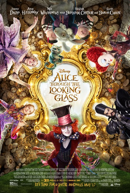 Alice Through The Looking Glass Review #DisneySMMC #ThroughTheLookingGlassEvent