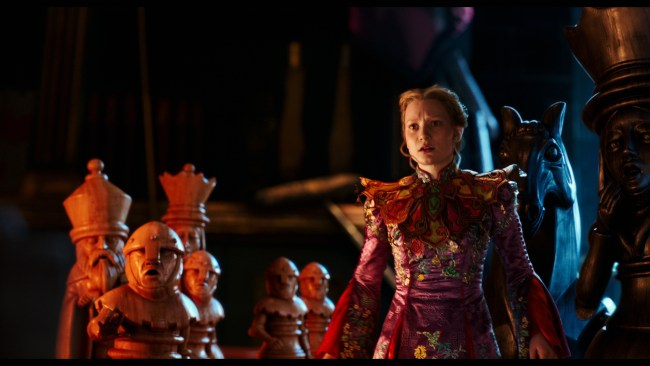 Alice (Mia Wasikowska) returns to the whimsical world of Underland in Disney's ALICE THROUGH THE LOOKING GLASS, an all-new adventure featuring the unforgettable characters from Lewis Carroll's beloved stories.