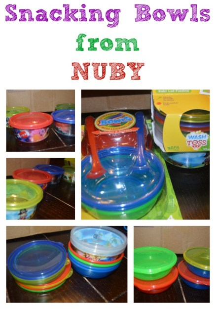Cute Snacking Bowl Options from NUBY #NUBY #BabyMustHaves