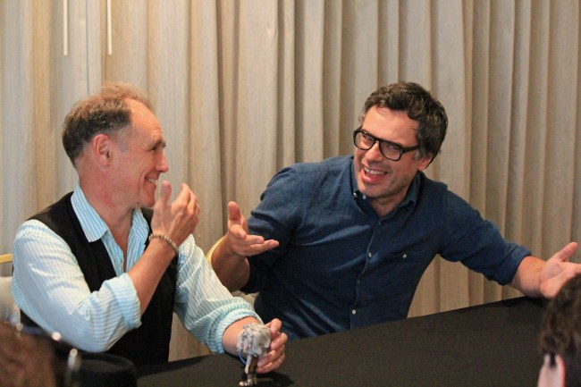 Giants of The BFG – Mark Rylance and Jemaine Clement Interview #TheBFGEvent