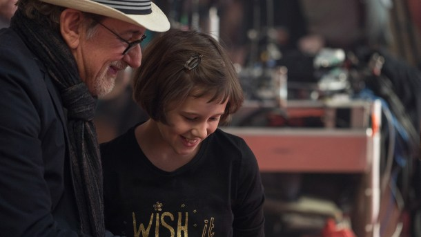 A Legend and a Newcomer: Steven Spielberg and Ruby Barnhill BFG Interview #TheBFGEvent #TheBFG