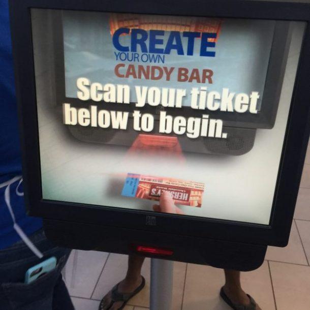 Hershey Chocolate World Create Your Own Candy Bar (5)