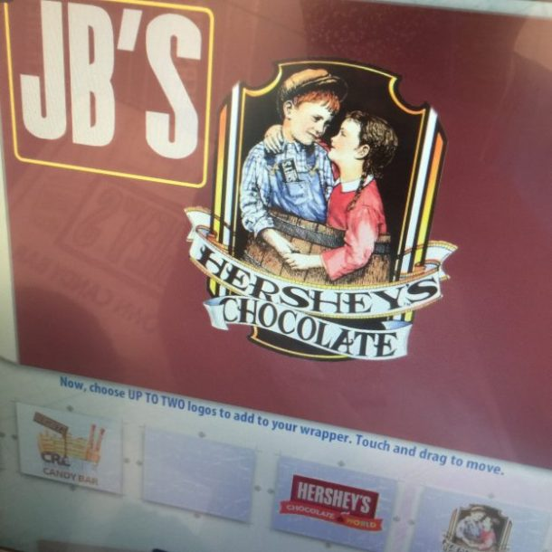 Hershey Chocolate World Create Your Own Candy Bar (7)