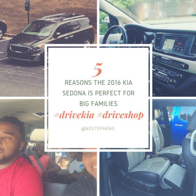 Five Reasons the Kia Sedona Is Perfect for Big Families #DriveKia #DriveShop