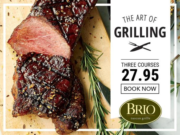 BRIO Tuscan Grille Promotion