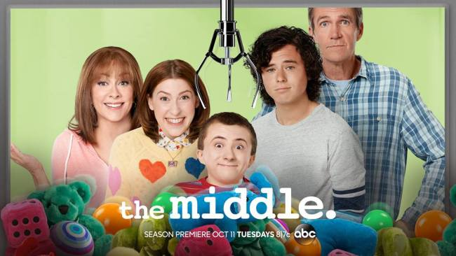 On the Set of The Middle #ABCTVEvent #TheMiddle