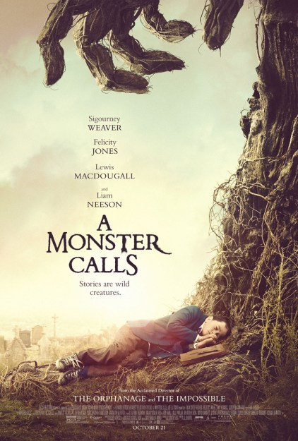 New Clips from Focus Features' A Monster Calls #AMonsterCalls
