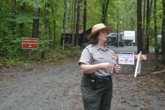 Park Ranger at Prince William Forest National Park