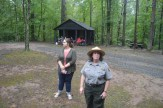Park Ranger at Prince William Forest National Park