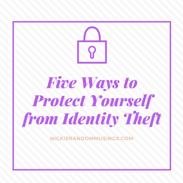Five Ways to Protect Yourself from Identity Theft