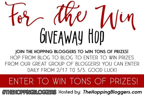 For The Win Giveaway Hop