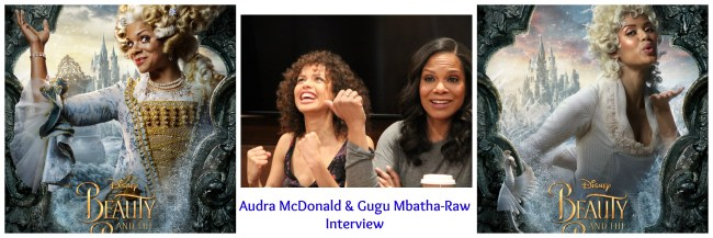 Audra McDonald and Gugu Mbatha-Raw Discuss Their Roles in Beauty and the Beast