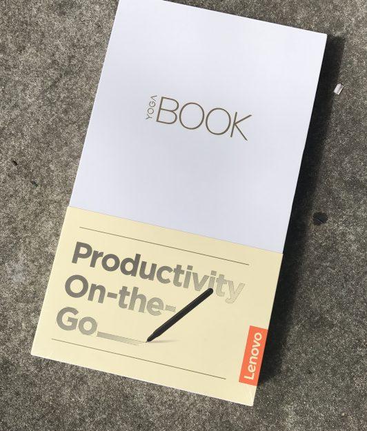 Lenovo YOGA Book in box
