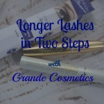 Longer Lashes in Two Steps with Grande Cosmetics
