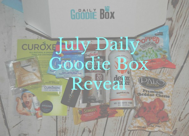 My July Daily Goodie Box