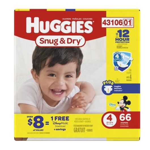 Earn Free Disney Music With Your Next Huggies Purchase