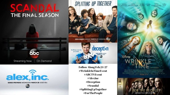 Follow Along My Wrinkle In Time Adventure Filled With New ABC Shows #WrinkleInTimeEvent