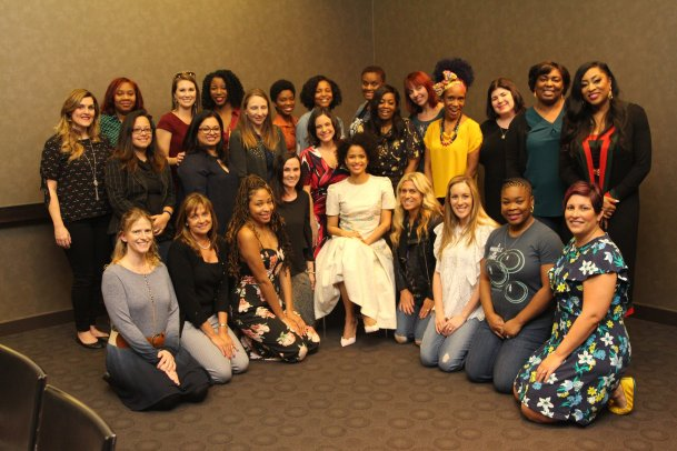 Gugu Mbatha-Raw Talks About Her Role In Wrinkle In Time #BeAWarrior #WrinkleInTimeEvent